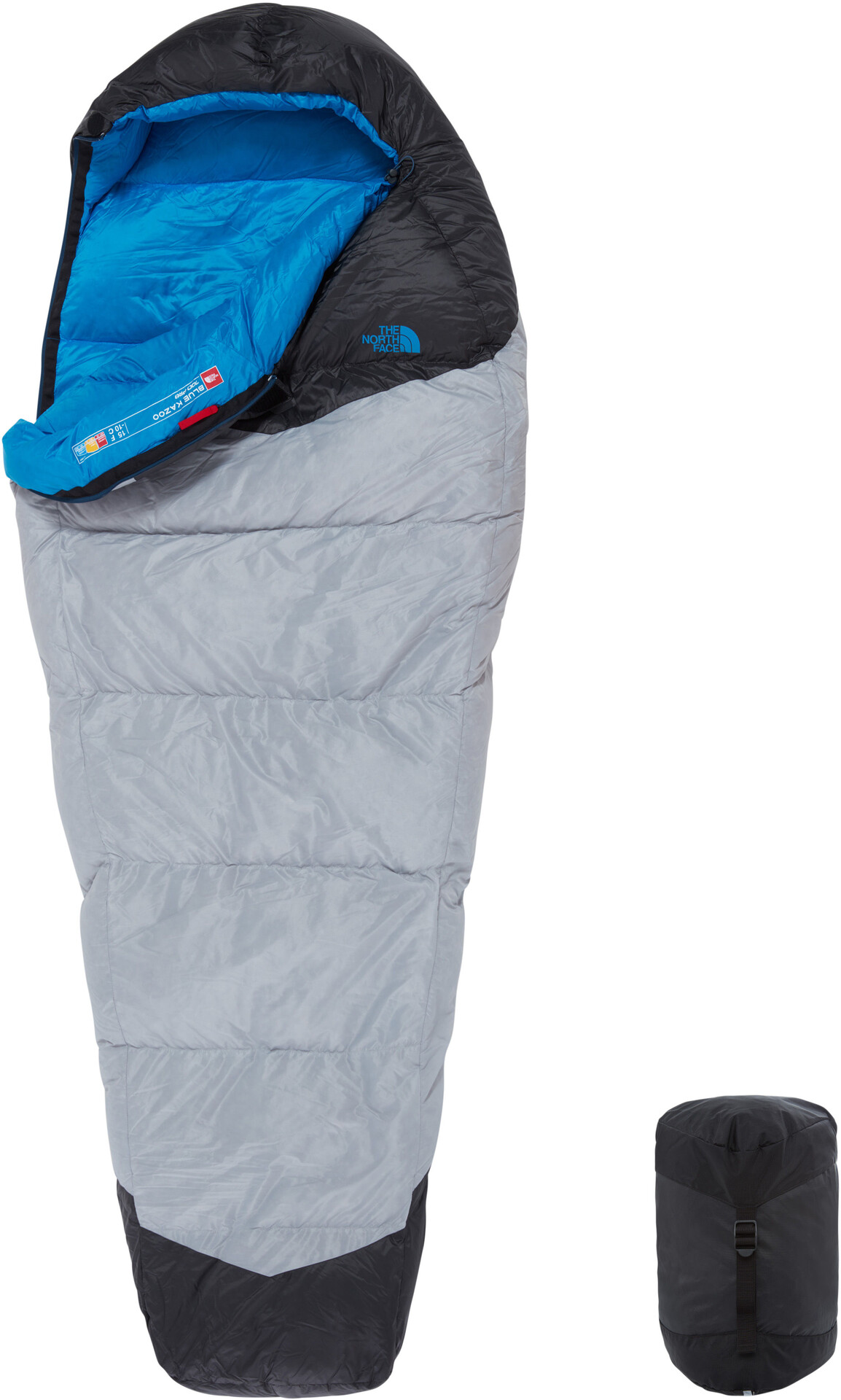 The North Face Blue Kazoo Sac de couchage Normal, high rise greyhyper blue